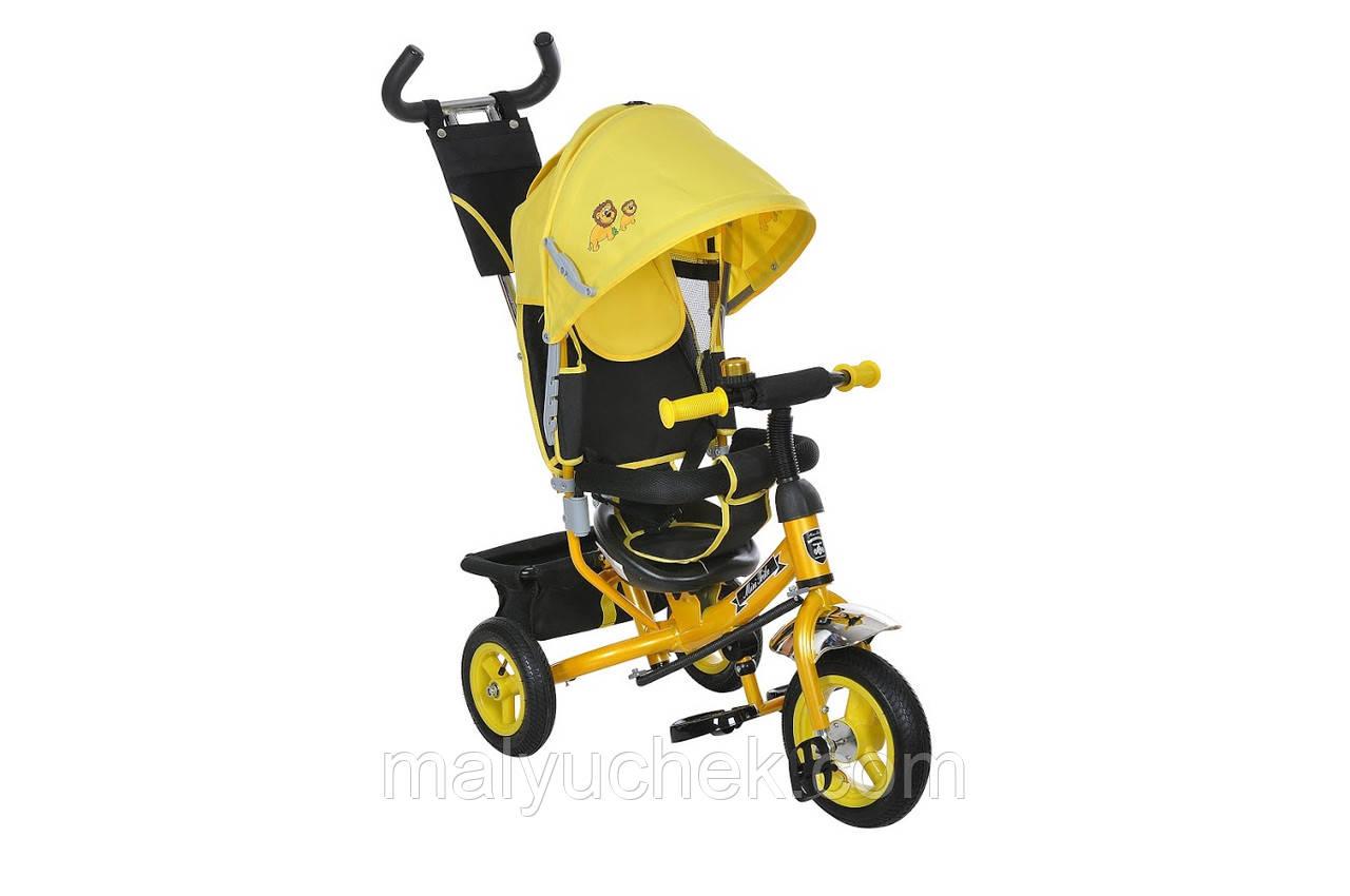 Bелосипед 3-х колісний MiniTrike (жовтий)