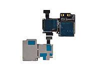 Разъем SIM-карты и карты памяти для Samsung i9500 Galaxy S4/i9505/i337/i545/M919. на шлейфе