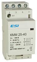 Модульный контактор 4 п, 25 А,  4НО 220 В