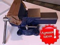 Тиски слесарные, губки 125 мм, поворотные. Польша