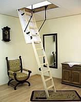 Лестница чердачная деревянная! Польша! 120смх70см