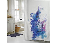 """Шторка для ванной комнаты """"Мистерия"""", 180*200 cм"""