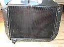 Радиатор Зил 130, Зил 131 (производитель ШААЗ, оригинал)  3-х рядный, медь, фото 2