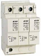 Устройство защиты от импульсных перенапряжений EMSPD 3p-C, 3-п, класс C