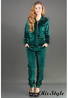 Женский зеленый спортивный костюм Ленди Olis-Style 44-52 размеры
