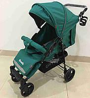 Коляска прогулочная CARRELLO Strada CRL-7305 Green резиновые колеса /1/
