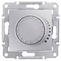 Диммер поворотно-нажимной  40-600 Вт. Schneider-Electric Sedna SDN2200860 алюминий