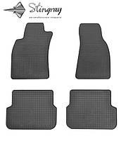 Комплект резиновых ковриков Stingray для автомобиля  Audi A6 (C6) 2004-2011   4шт.