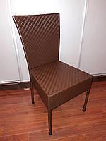 Кресло из ротанга Греттис для дома и терассы. Усиленное! Разные цвета красное