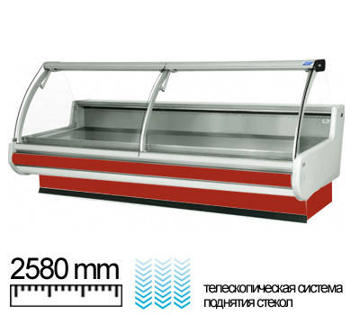 Холодильная витрина Cold MODENA 25 (w-25-psp), фото 2