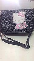 Детская сумочка Hello Kitty  черная 78098