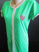 Трикотажные халаты на лето от производителя., фото 1