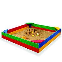 Деревянная песочница SportBaby 1