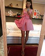 Женское полосатое платье MM-105
