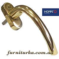 Ручка оконная Hoppe золото глянец