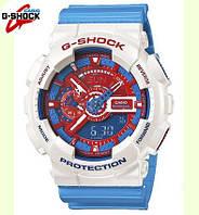 Водонепроницаемы Часы Casio G-Shock GA 110 colorfull/цветные, спортивные, копия