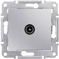 Розетка ТВ конечная  Schneider-Electric Sedna SDN3201660 алюминий