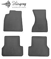 Комплект резиновых ковриков Stingray для автомобиля Audi A6 (C7) 2011-    4шт.