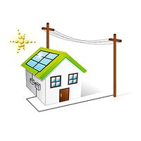 Автономная солнечная станция 0,5 кВт