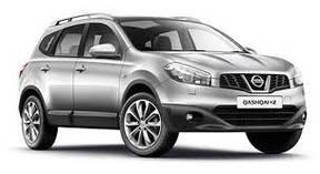 Накладки на пороги Nissan Qashqai +2 (2008+)