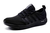 Кроссовки мужские Adidas Bounce, черные., р.  44