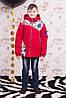 """Демисезонная куртка для мальчика """"Polo"""" красная"""
