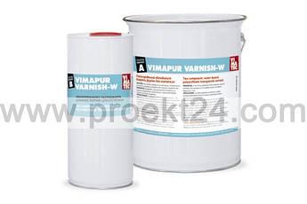 Двухкомпонентный полиуретановый лак растворимый с водой VIMAPUR VARNISH-W