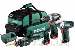 Metabo Combo Set 3.2 10.8 V (набір) PowerMaxx 10,8В BS+SSD+ASE, ШЗП Futuro Plus 1-10мм, 2xLi-Power 2,0Аг, LC40