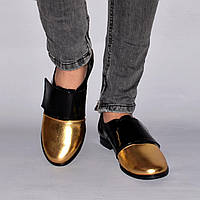 Туфли на маленьком каблуке из натуральной кожи, на липучке. Размеры 36-41, три цвета Sev Mar S1120/38