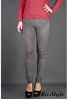 Молодежные женские лосины Рейчел меланж Olis-Style 44-52 размеры
