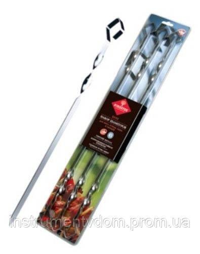 Набор шампуров в блистере FORESTER RZ-450SB (6 шт, 45 см, нержавейка)