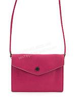 Маленькая удобная легкая сумочка на два отделения art. 065 розовая
