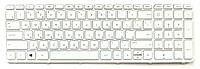 Клавиатура HP Pavilion 15-a000, 15-a024sg, 15-h000, 15-h000sb, 15-H015NG,15-H024, 15-d052sh белая с рамкой