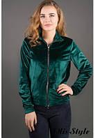 Молодежная зеленая кофта Ниона Olis-Style 44-52 размеры