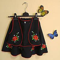 Украинский детский костюм для девочки