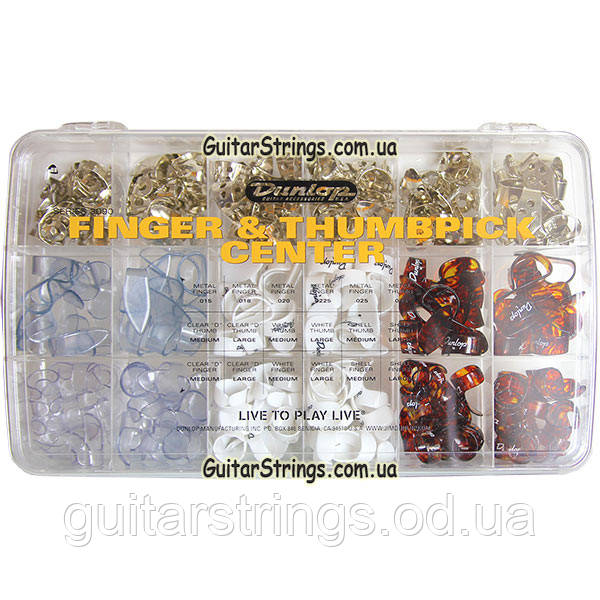 Набор Медиаторов Dunlop 3090 Finger and Thumbpick Center 216pcs