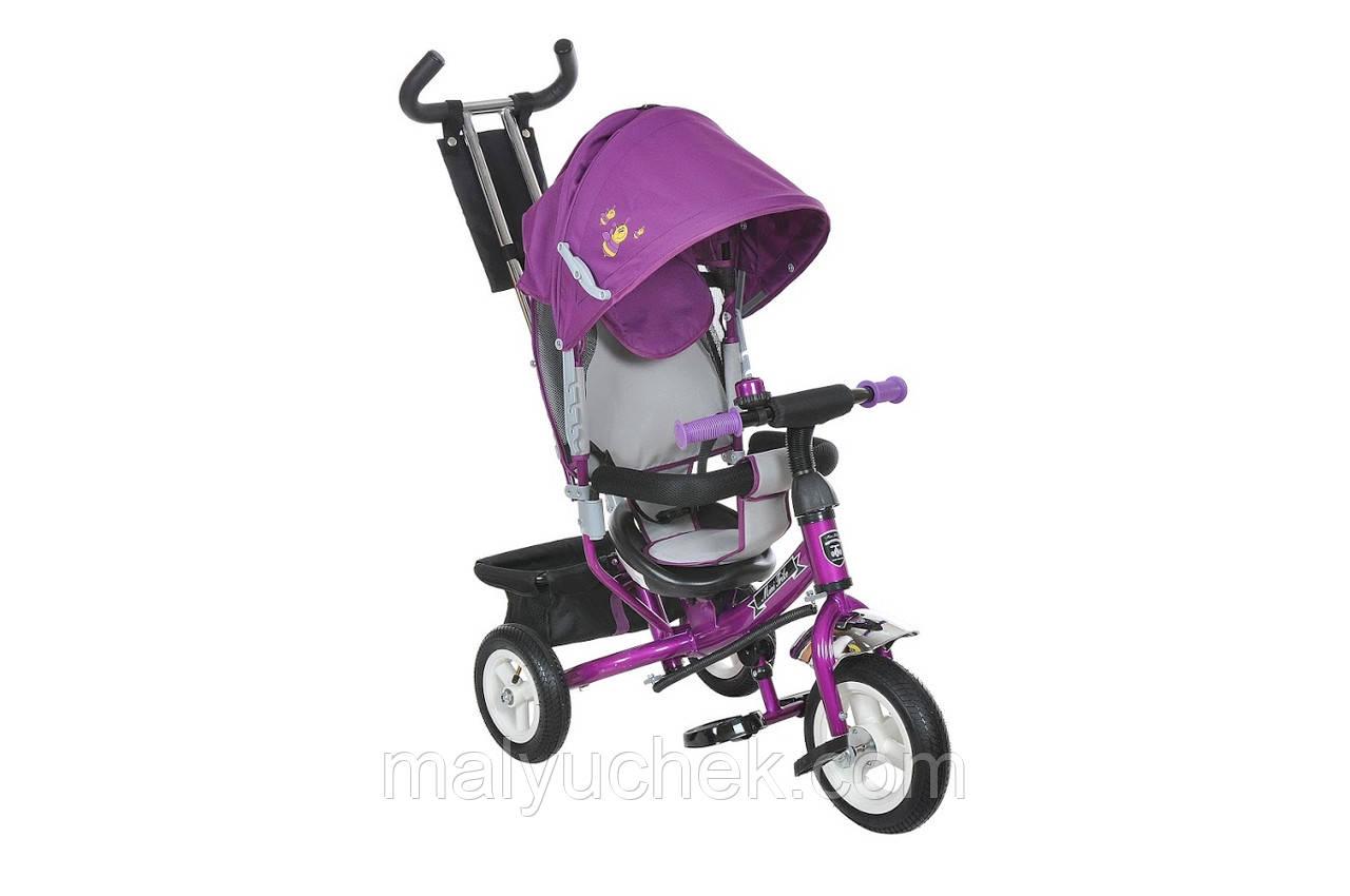 Детский трехколесный велосипед Mars Mini Trike Rainbow 950D фиолетовый