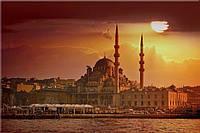 Светящиеся картина Startonight Город Стамбул Рассвет Пейзаж Декор стен Дизайн дома Интерьер