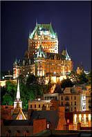 Светящиеся картина Startonight Старый Город Квебек Пейзаж Декор стен Дизайн дома Интерьер