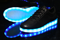 Светящиеся LED кроссовки для взрослых