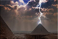 Светящиеся картина Startonight Египет Пирамиды Старны Мира Пейзаж Декор Интерьер