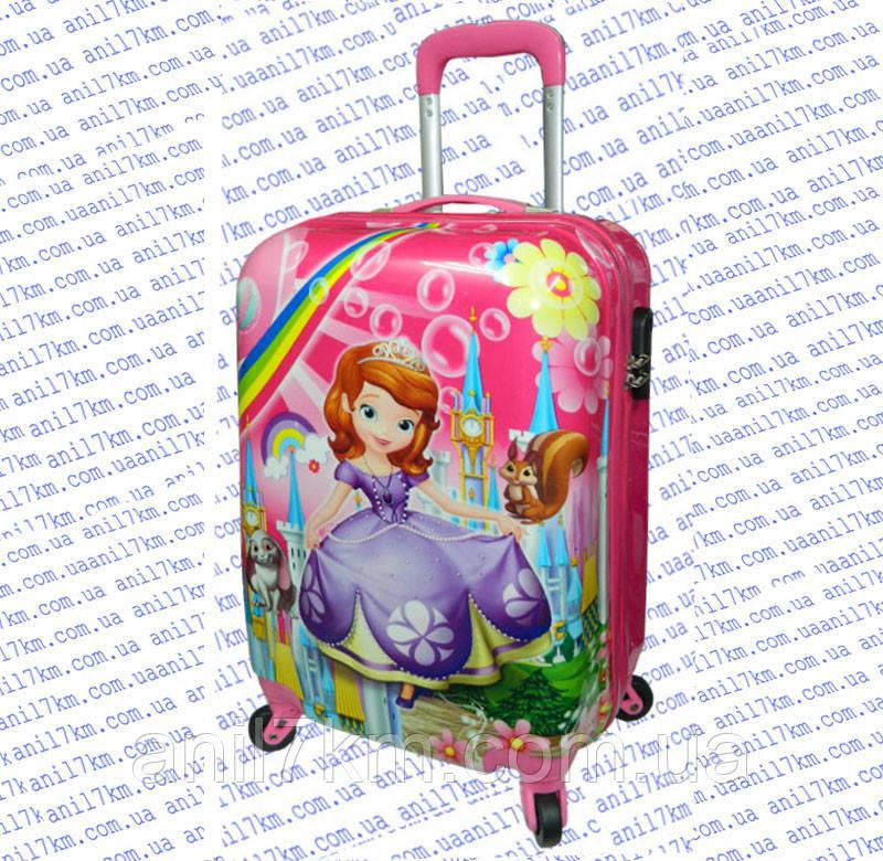 Купить пластиковый чемодан детский на колесиках купить чемодан для детей