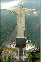 Светящиеся картина Startonight Город Афины Рио де Жанейро Статуя Иисуса Дизайн Интерьер