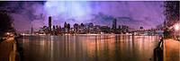 Светящиеся картина Startonight Город Нью Йорк Манхэттен Декор стен Дизайн дома Интерьер