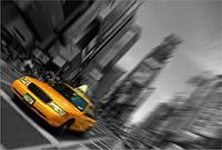 Светящиеся картина Startonight Город Нью Йорк Такси Таймс Сквер Декор Дизайн Интерьер