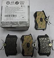 Оригинальные задние колодки SEAT IBIZA III, AUDI A2, AUDI A4