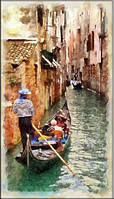 Светящиеся картина Startonight Город Венеция Пейзаж Декор стен Дизайн дома Интерьер