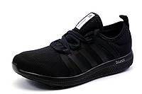 Кроссовки унисекс Adidas Bounce, черные, р. 36 37 38 39 40 41