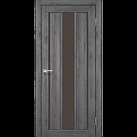 Межкомнатная дверь VENECIA DELUXE дуб марсала сатин Бронза VND-04