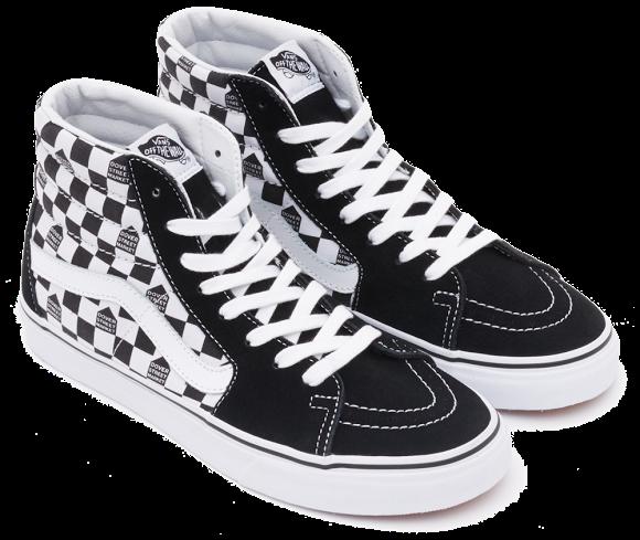 Кроссовки Supreme x Vans Sk8-Hi, черно-белые высокие - Stylemall Торговый  Центр ee3fbe2f0b3